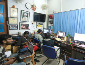 Incubation office at MCIIE